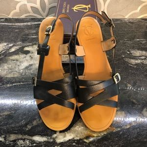 Vince Camuto sandals are very gently worn.